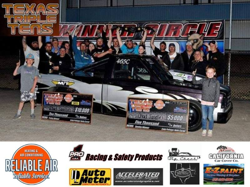 Chad Sandlin Wins Texas Triple Tens