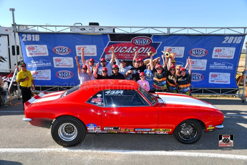 Chase Huffman NHRA Fall Nationals Champ