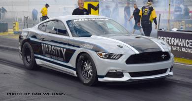 Chris Holbrook Cobra Jet Mustang Factory Stock Showdown NHRA parity adjustment