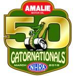 Gatornationals 50th Logo