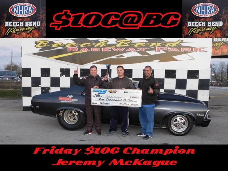 Jeremy McKague Friday 10G at BG winner