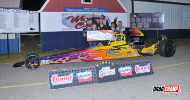 Michael Paschal Top Winner IHRA Farmington Dragway