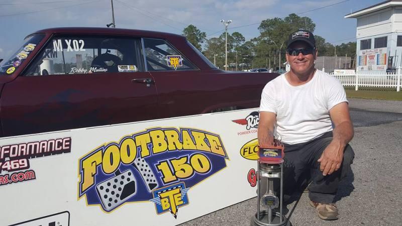 Robby Mullins 2018 Footbrake 150 Winner