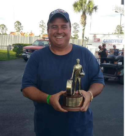 Ross Laris Baby Gators Top Dragster Champion