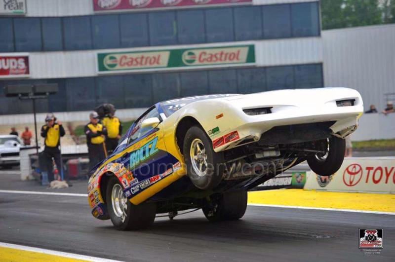 Brittany Boltz Englishtown Huge Wheelstand