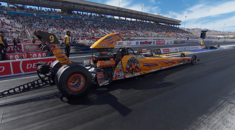 2019 Las Vegas Top Dragster final Andy Spiegel defeats Robert Tehle