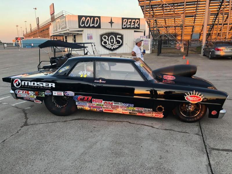 Cole Cummings Super Gas Winner D4 LODRS Texas motorplex Race 2