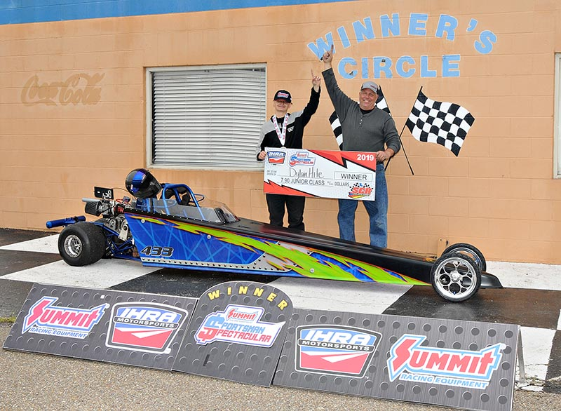 Dylan Hite IHRA Sportsman Spectacular State Capitol