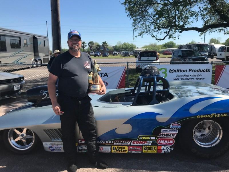 Robert Rowan NHRA Spring Nationals Super Gas Winner