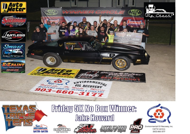 Jake Howard wins Texas Triple Tens 042719