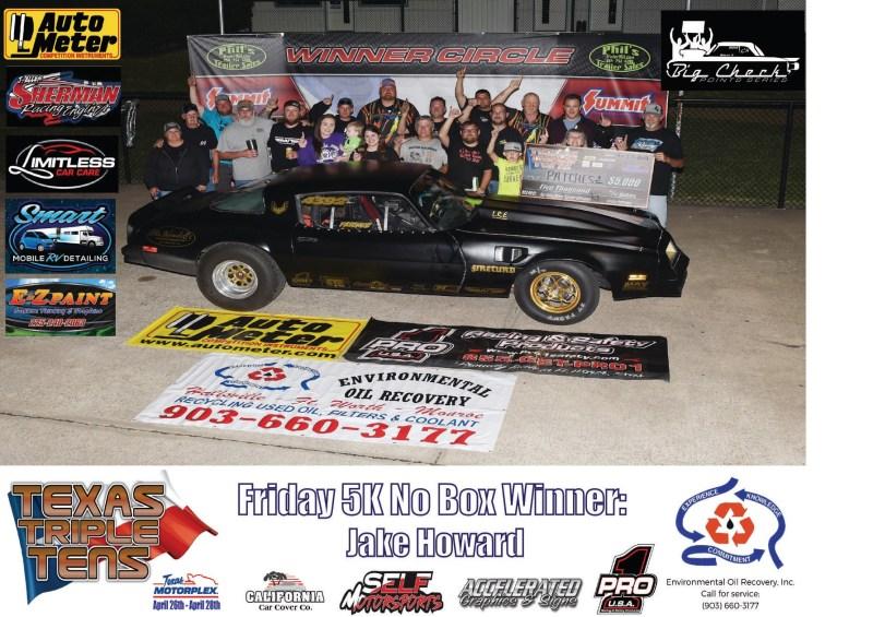 Jake Howard wins Texas Triple Tens 042719