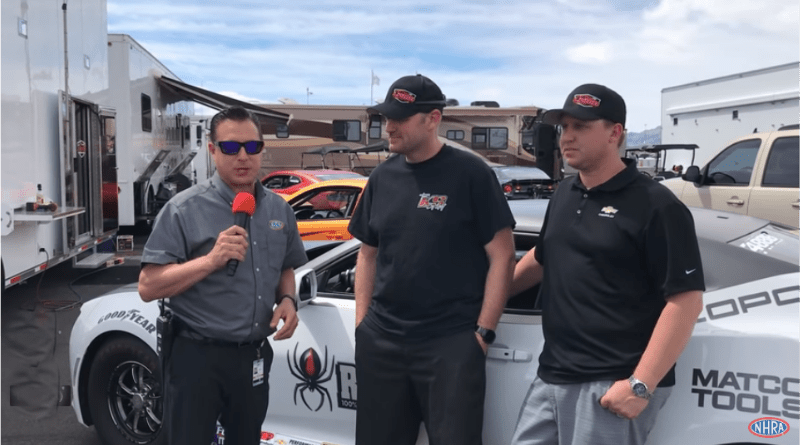 NHRA Attention in the Pits with Luke Bogacki and Justin Lamb