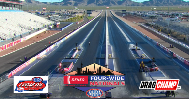NHRA Four Wide Nationals Saturday Sportsman Results