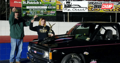 Nicole Talbert Big Check Racer Spotlight