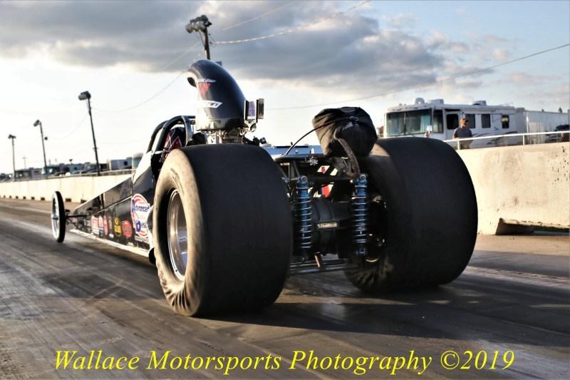 Chase Huffman drag racing