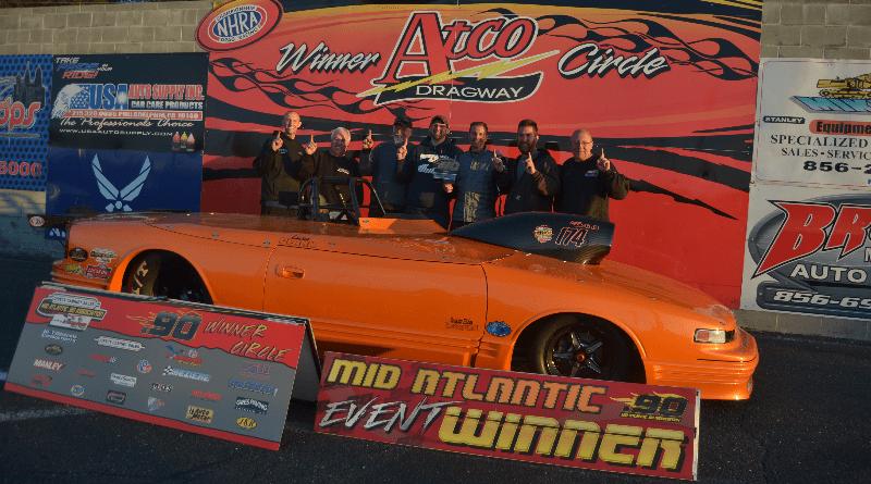 Derek Clark Mid Atlantic 90 Race Results