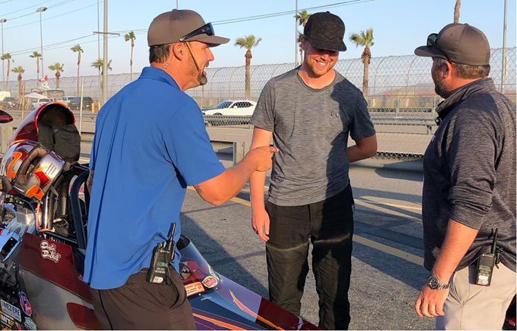 Dustin Wurtz 2019 West Coast Classic Champ with Chris Forsyth and Shawn Langdon
