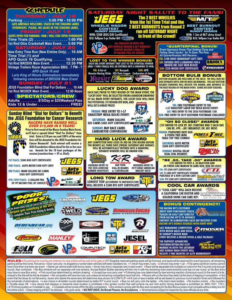Jegs Summer Door Car Shootout Flyer pg 2