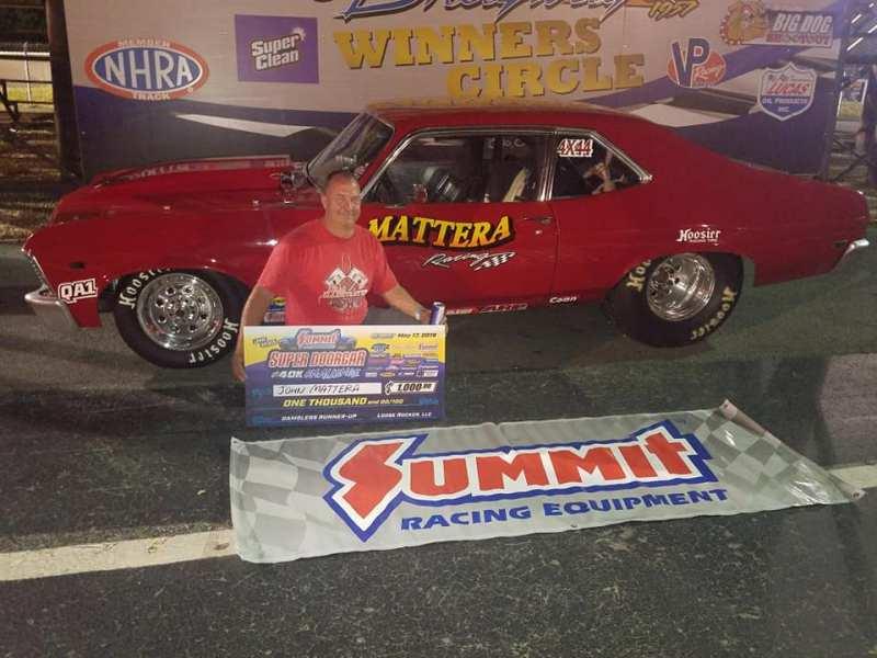 John Mattera Friday Gamblers runner up Super Doorcar Challenge