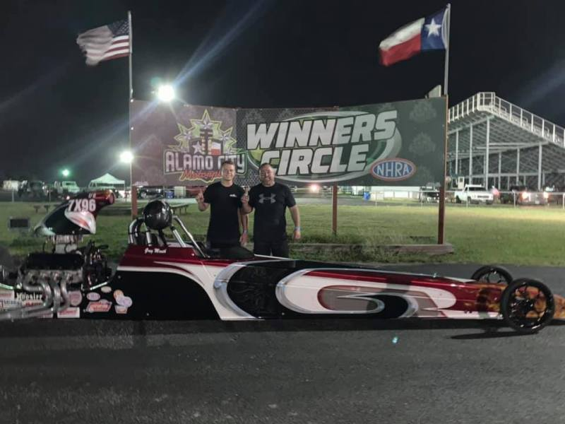 ACM Race 4 Super Pro Winner Greg Meuth