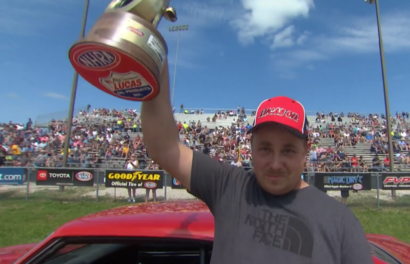 Chris Chaney 2019 Heartland Nationals Stock champ interview tophy