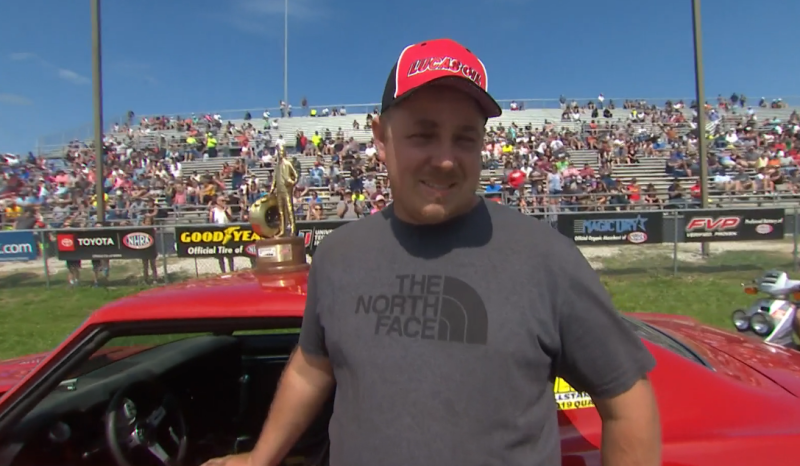 Chris Chaney 2019 Heartland Nationals Stock champ