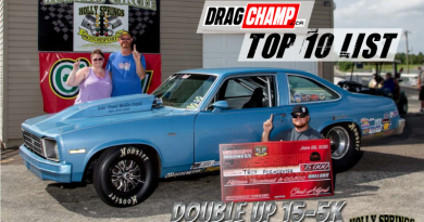 DragChamp Sportsman Racing Top 10 List 6-26-19