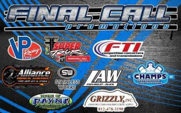 Final Call Promotions Logo with sponsors
