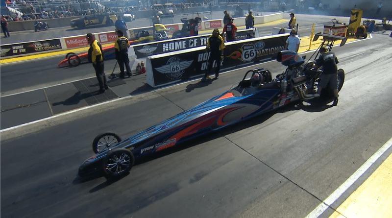 Jim Prevo 2019 Route 66 Nationals Top Dragster Champ final