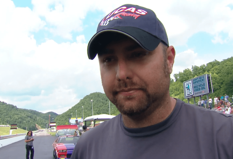 Johnny Brooks 2019 Thunder Valley Top Sportsman interview close up