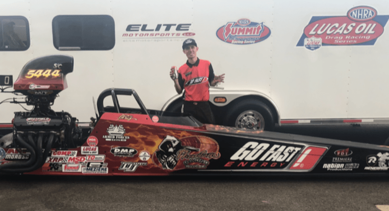 Kris Whitfield Super Comp shootout winner bandimere lodrs