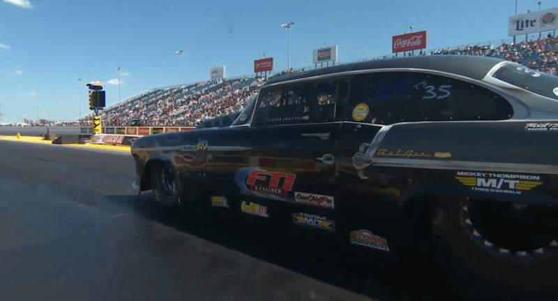 Lester Johnson Top Sportsman route 66 nationals