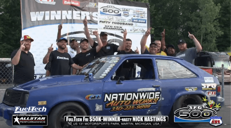 Nasty Nick wins friday 50k at sfg 500