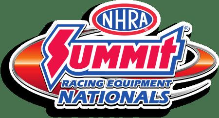 Summit Racing Equipment NHRA Nationals Logo