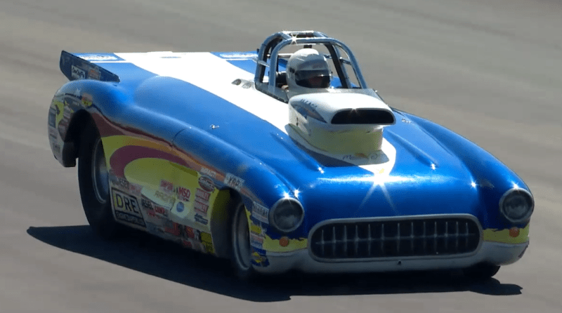Ken Bowers Super Gas winner 2018 New England Nationals