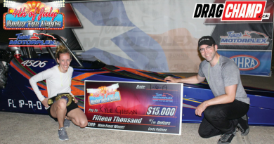 Gibson & Adcox win Saturday Under the Lights