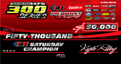 SFG 300 Series Live Feed from Piedmont Dragway