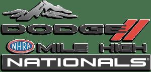 nhra 2019 mile high nationals logo