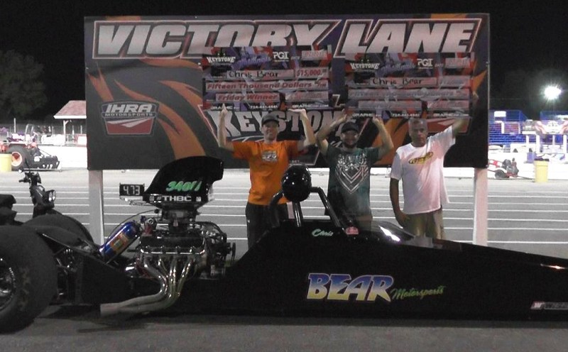 Chris Bear Saturday 660 Top Bulb Nats Winners Circle