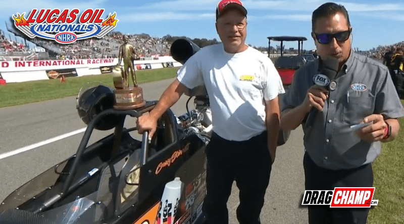 Gary Stinnett wins Super Comp at Lucas Oil Nationals