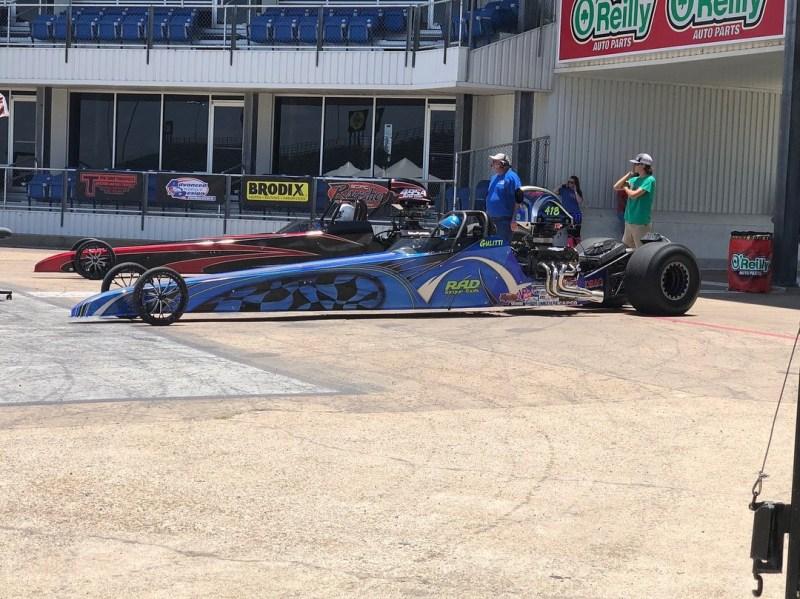 Gulitti racing dragster