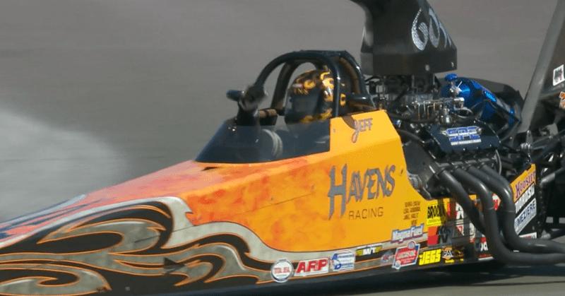Jeff Havens Top dragster winner