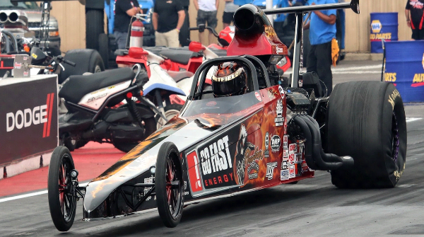 Kris Whitfield Super Comp Dragster