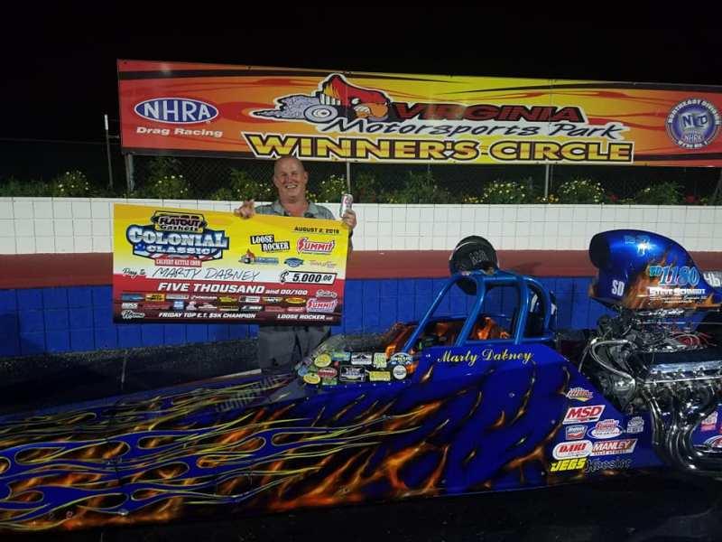 Marty Dabney 5K legendary winner