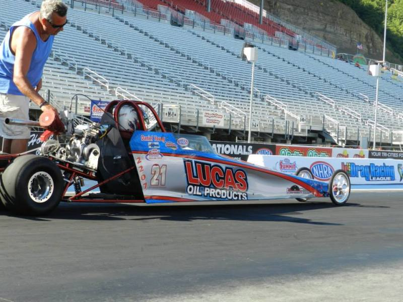 Daniel Young Jr dragster Bristol