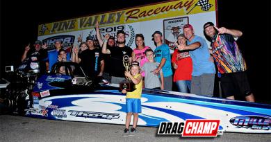 Hunter Patton wins Division 4 IHRA Team Finals