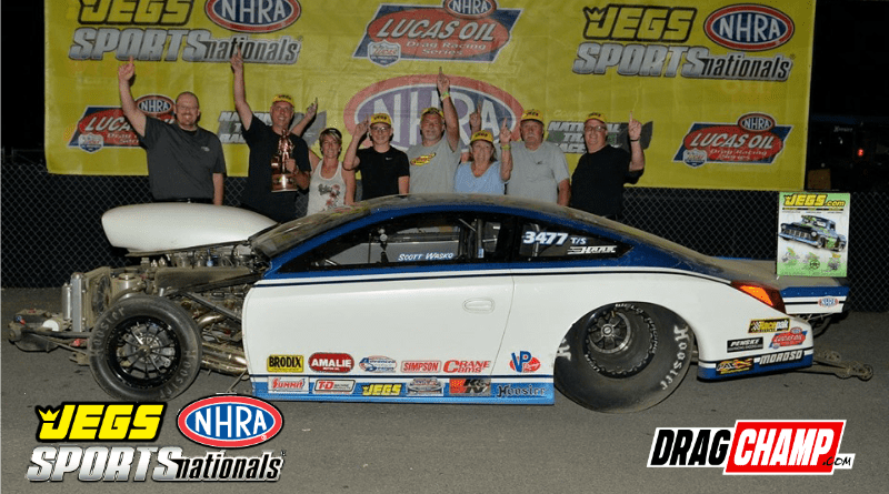 Jegs Sportsnationals race results