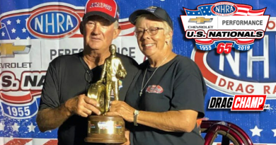 Rusty Baxter wins Top Dragster at US Nationals