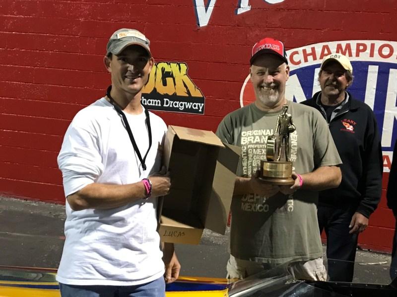 Rock Winner Circle Courtesy of Spradlin Motorsports