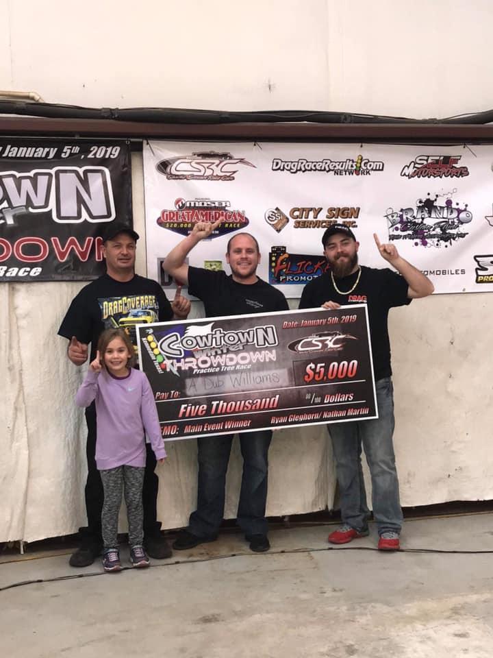 Cowtown Winter Throwdown Main event winner